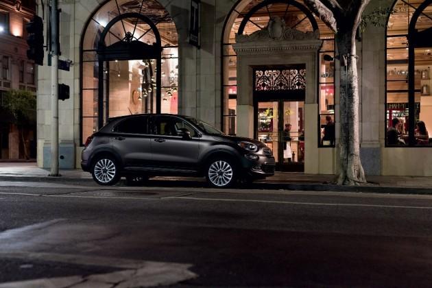 2016 Fiat 500x Silhouette