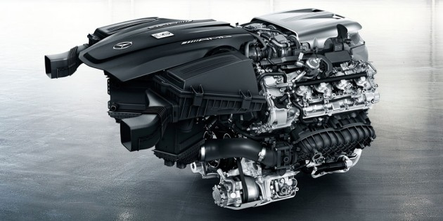 2016 Mercedes AMG GT Engine
