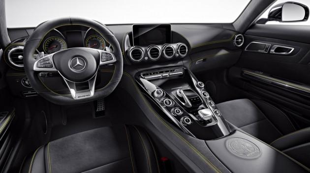 2016 Mercedes AMG GT Interior