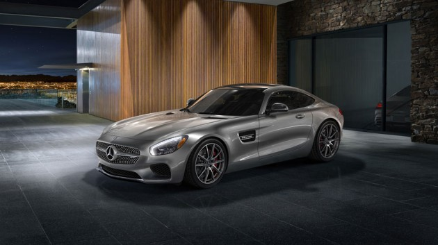 2016 Mercedes AMG GT Outside