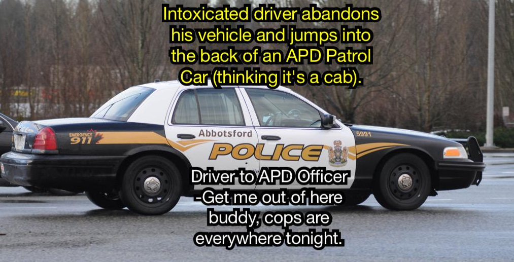 Abbotsford Police Car exchange