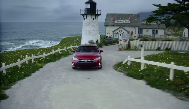 Toyota Camry commercial