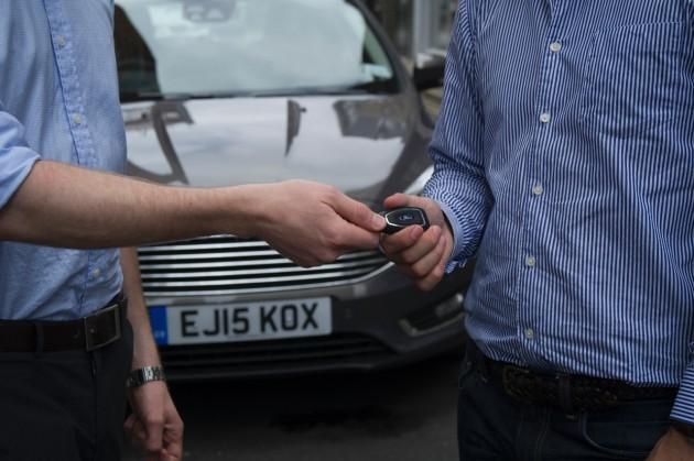 Ford Credit car sharing