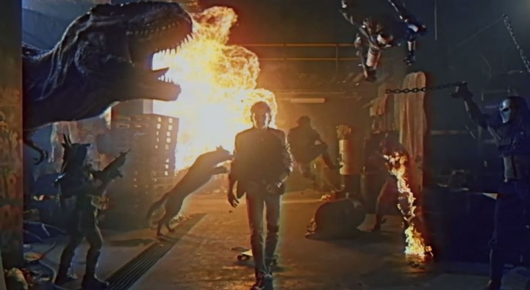 David Hasselhoff's True Survivor Music Video Lamborghini Countach