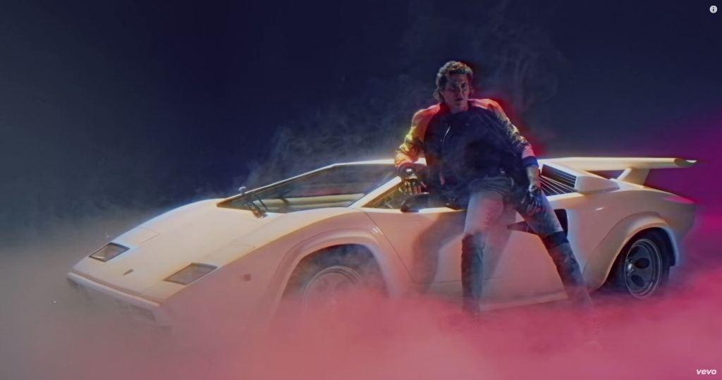 David Hasselhoffs True Survivor Music Video Lamborghini Countach