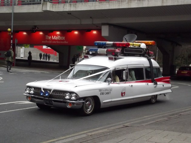 Ecto 1A from Ghostbusters 2