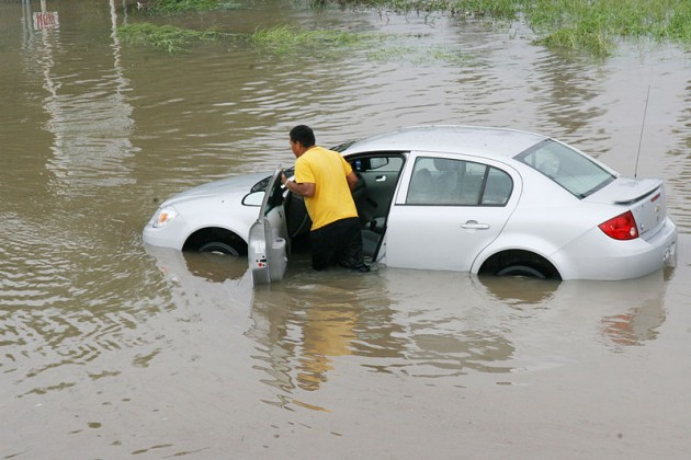 Learn some easy ways to spot a flood-damaged car before driving it off the lot