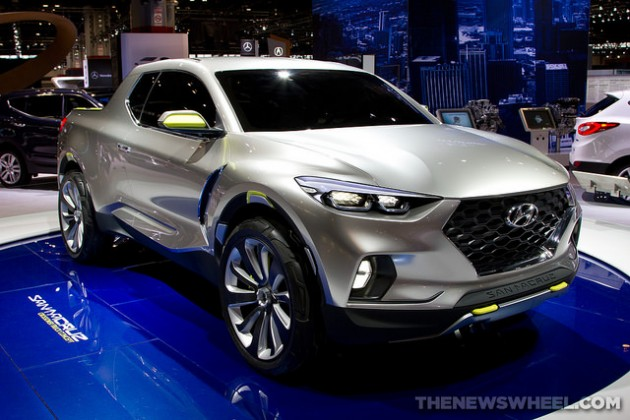 Hyundai Santa Cruz news production awards