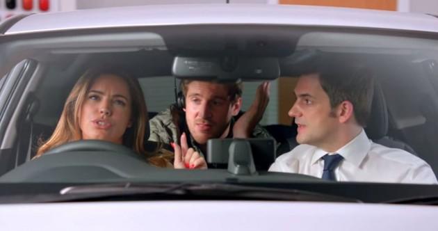 Hyundai i20 UK commercial video Kelly Brook funny