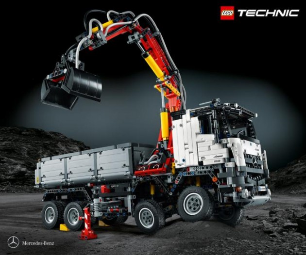 Lego Mercedes-Benz Arocs