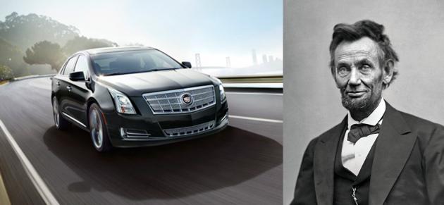 Lincoln Cadillac XTS