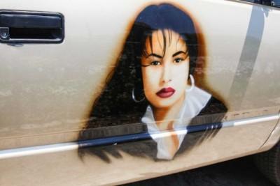 Selena Quintanilla Tribute Truck