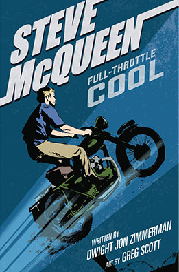 Steve McQueen Full Throttle Cool Grahpic Novel Cover Review