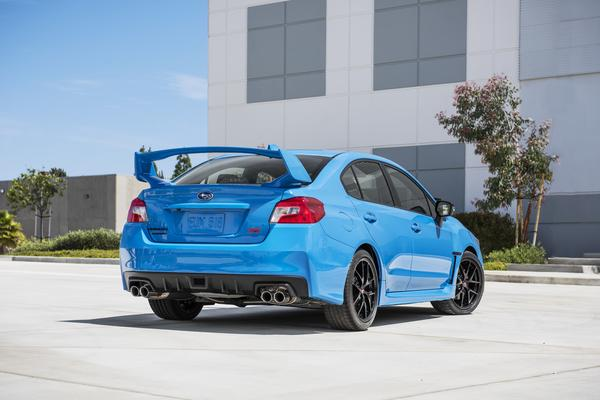 2016 subaru Series.HyperBlue WRX STI price