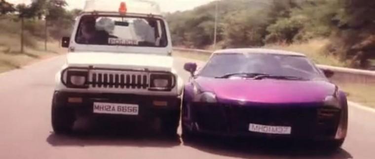 Taarzan The Wonder Car Indian Bollywood Movie police