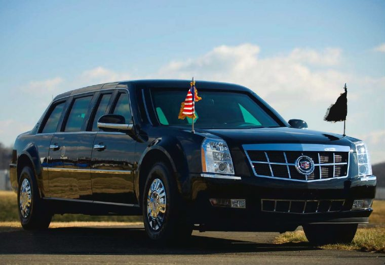The Beast Obama Car