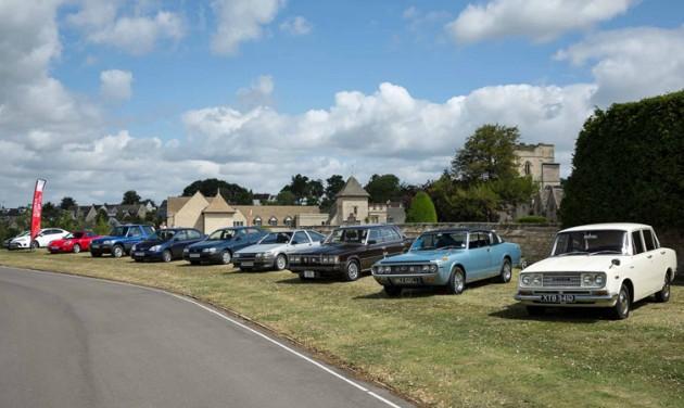 Toyota classic car fleet