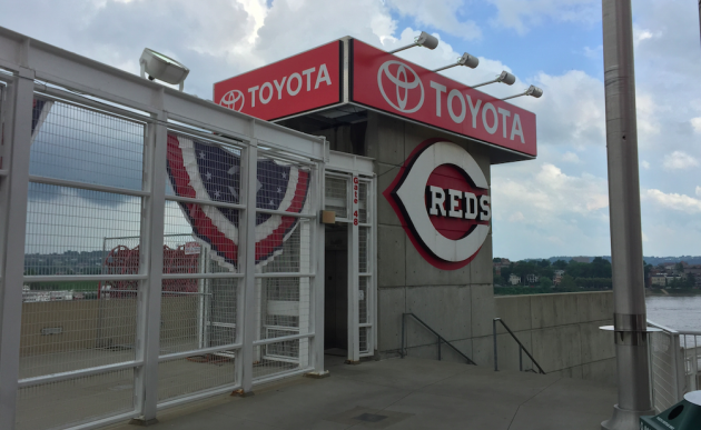 Toyota Tundra at Reds Great American Ball Park