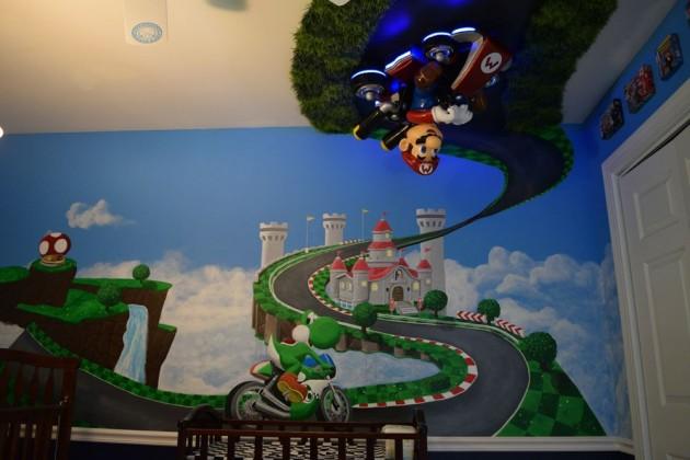 Wii Mario Kart 8 nursery