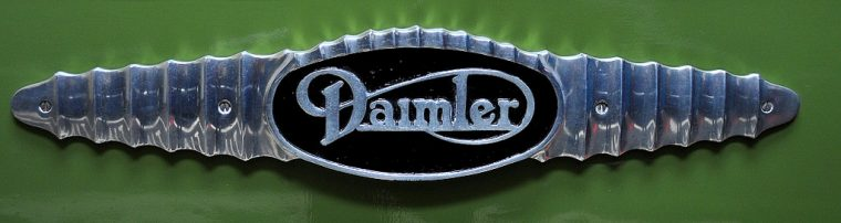 daimler badge
