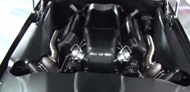 Maximus Charger 2,000-hp Engine