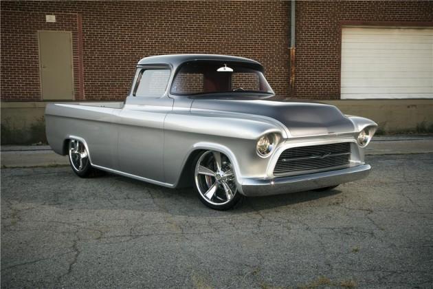 Chevy Las Vegas >> 1957 Chevy Quiksilver Pickup Heading To Barrett Jackson Las