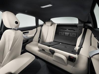 2016 BMW 4 Series Interior Back Seats Folded Flat