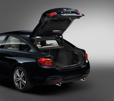 2016 BMW 4 Series Trunk