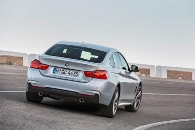 2016 BMW 4 Series Back