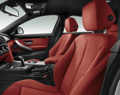 2016 BMW 4 Series seats