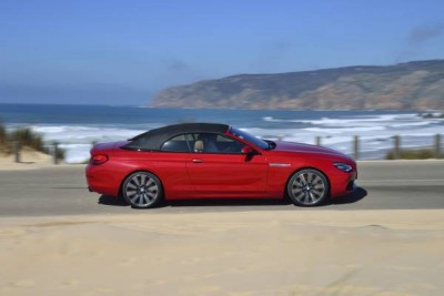2016 BMW 6 Series Beach Driving