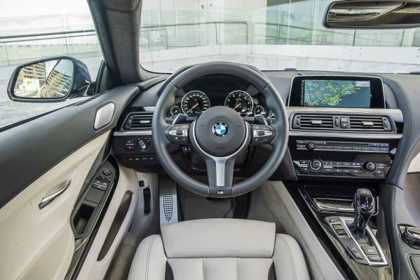 2016 BMW 6 Series Driver View
