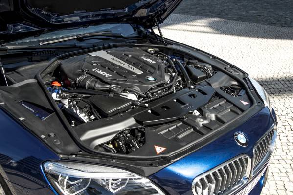 2016 BMW 6 Series Engine
