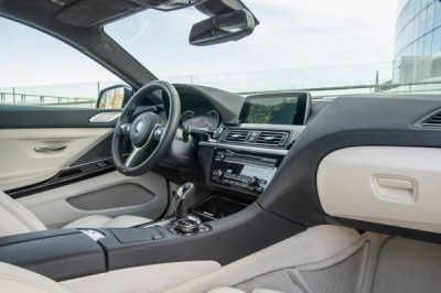 2016 BMW 6 Series Front Interior