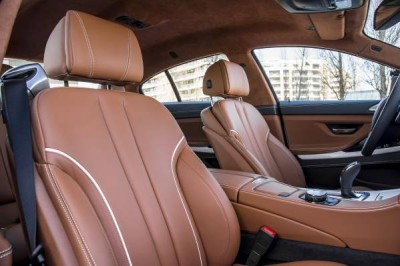 2016 BMW 6 Series Leather Interior