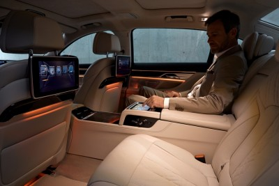 2016 BMW 7 Series Interior Passenger