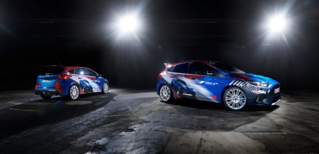 2016 Forza Focus RS and the Stig