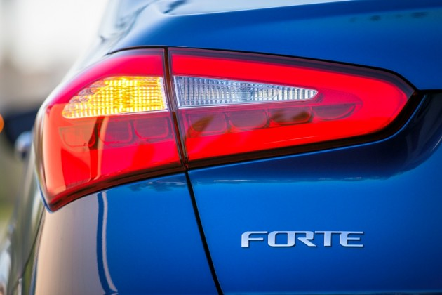 2016 Kia Forte Taillight Design