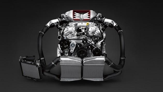 2016 Nissan GT-R 3.8-liter V6