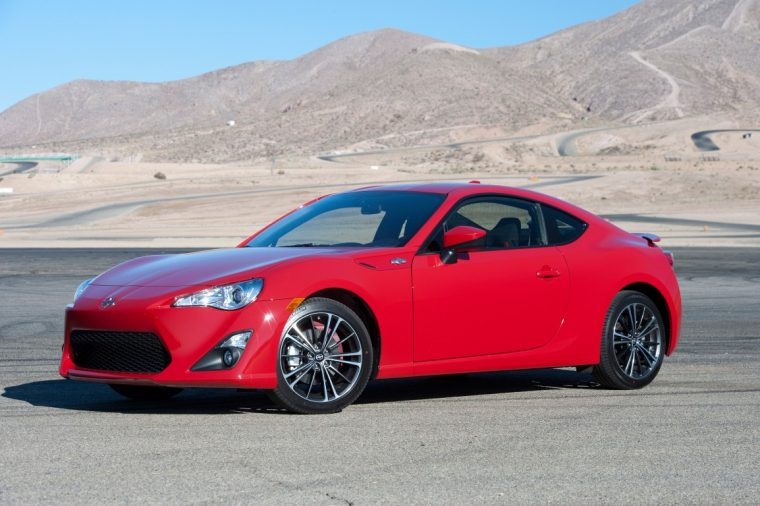 2016 Scion FR-S replaced by Toyota 86