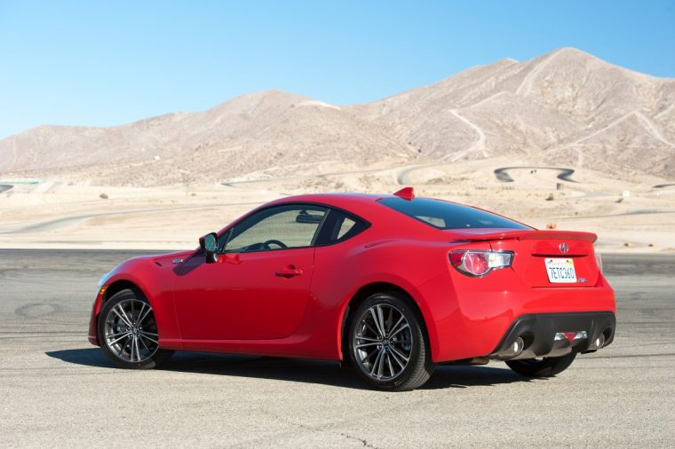 2016 Scion FR-S discontinued toyota