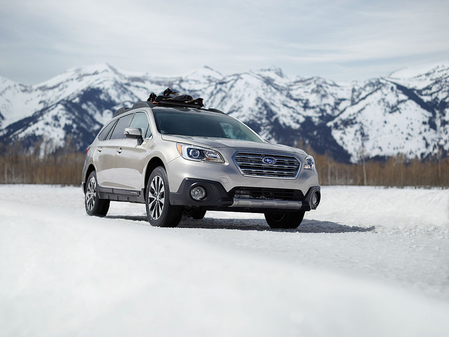 EyeSight is available on vehicles such as the 2016 Outback