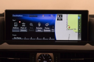 2016 Lexus LX 570 Navigation