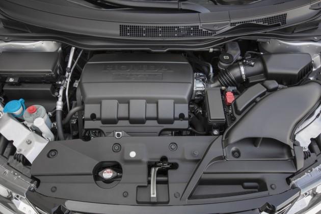 The Odyssey's V6 engine