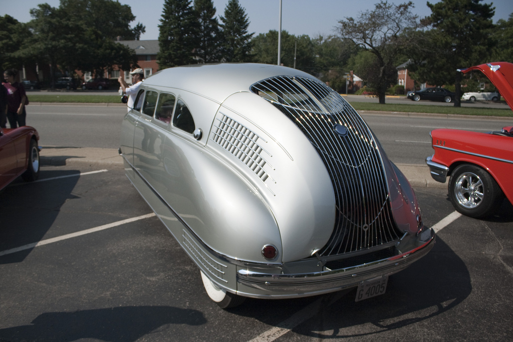 Rear of 1936 Stout Scarab