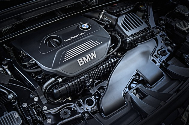 BMW X1 Turbo Engine
