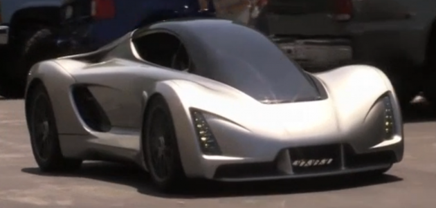 """Blade"": the 3D-Printed supercar of the futureImage: Reuters"