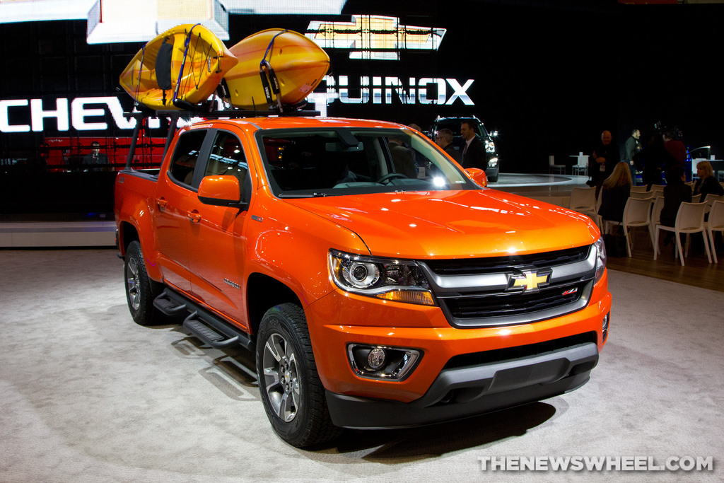 2016 chevrolet colorado overview the news wheel. Black Bedroom Furniture Sets. Home Design Ideas