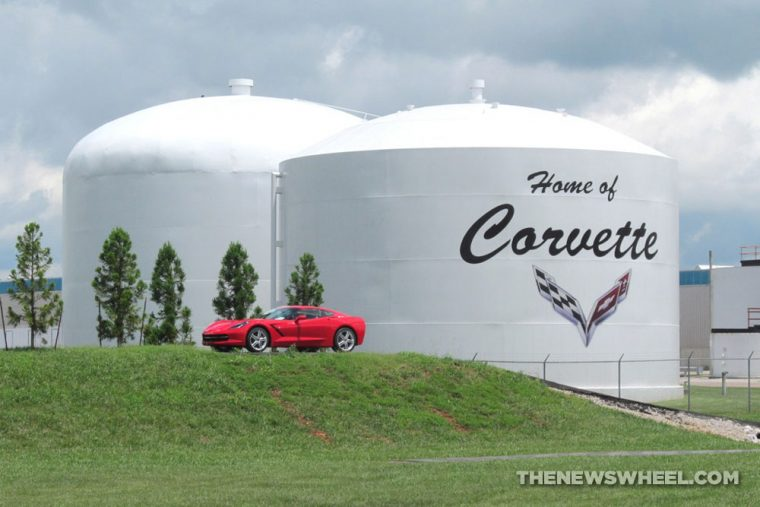 Chevrolet-Corvette-Plant-Tour-Entrance-Display