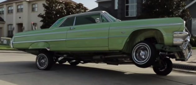 New Orleans Rapper Currency Shows Off His Custom Painted '64 Chevy Impala Lowrider